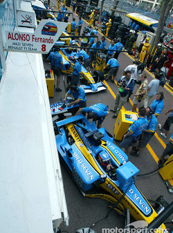 Stand Renault F1