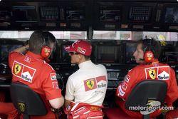 Ross Brawn, Michael Schumacher y Jean Todt