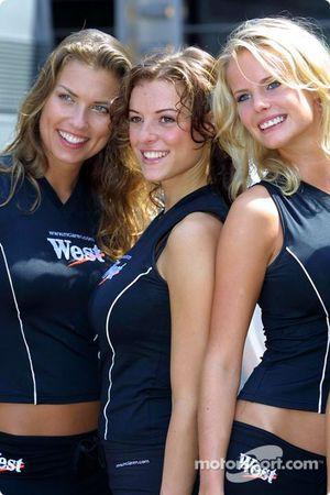 Las chicas de oeste encantador