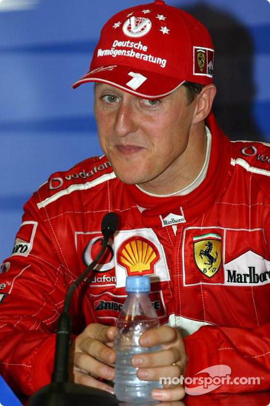 Conférence de presse : Michael Schumacher