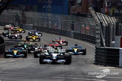 Départ : Ralf Schumacher mène