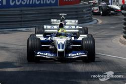 Ralf Schumacher devant Juan Pablo Montoya
