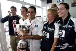 Le vainqueur Juan Pablo Montoya