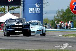 Mustang and Porsche