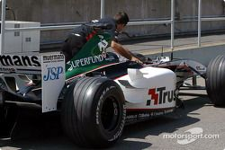 Minardi goes to technical inspection