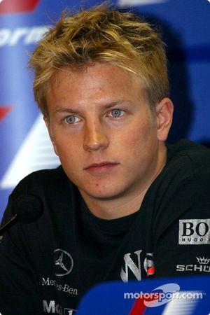 Thursday press conference: Kimi Raikkonen