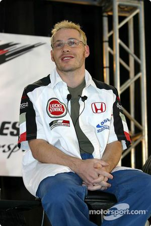 Jacques Villeneuve's tradition press conference in Montreal