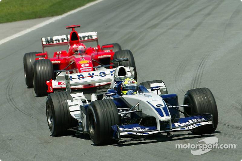 Ralf Schumacher ve Michael Schumacher