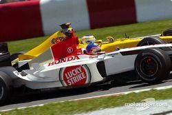 Jacques Villeneuve and Giancarlo Fisichella