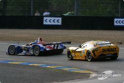 Intersport Racing Field Lola-MG : Jon Field, Duncan Dayton, Rick Sutherland; DeWalt-Racesports Salisbury TVR Tuscan T400R : Tim Sugden, Michael Caine, Mike Jordan