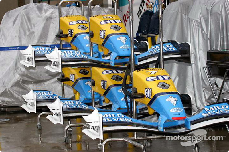 Conos de nariz del Renault F1