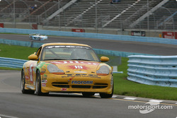 #15 TPC Racing Porsche Carrera: Andy Lally, Michael Levitas