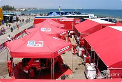 Service area at Limassol