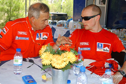 Corrado Provera and Richard Burns