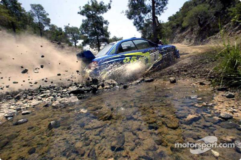 8. Rally de Chipre 2003: 66,18 km/h