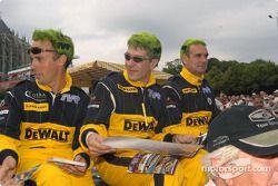 #91 DeWalt Racesport Salisbury TVR Tuscan T400R: Richard Stanton, Richard Hay, Rob Barff