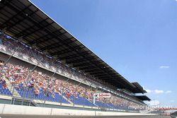 Zuschauer am EuroSpeedway Lausitzring