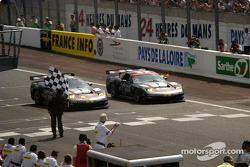 #50 Corvette Racing Gary Pratt Corvette-Chevrolet C5: Oliver Gavin, Kelly Collins, Andy Pilgrim, and