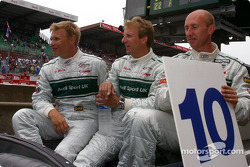 #10 Audi Sport UK Audi R8: Perry McCarthy, Mika Salo, Frank Biela