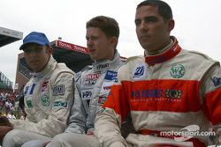 #25 Gérard Welter WR-Peugeot: Jean-René de Fournoux, Stéphane Daoudi, Bastien Brière