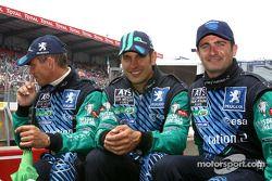 #18 Pescarolo Sport Courage C60-Peugeot: Eric Hélary, Soheil Ayari, Nicolas Minassian