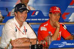 Conferencia de prensa FIA del jueves: Ralf Schumacher y Michael Schumacher