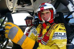 Ralph Firman ve co-driver Michael Park Ford Focus RS WRC Car