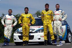 Jordan Grand Prix Giancarlo Fisichella ve Ralph Firman ve Ford WRC Michael Park ve Markko Martin
