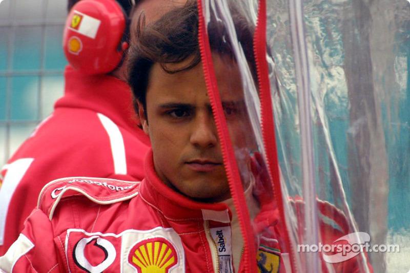 Феліпе Масса (тест-пілот Ferrari у 2003 році)