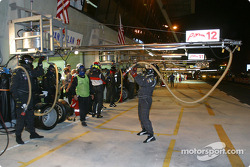 JML Team Panoz get ready for next pitstop