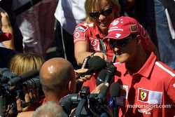 Entrevista para Michael Schumacher