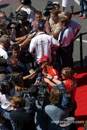 Entrevista para Ralf Schumacher y Michael Schumacher