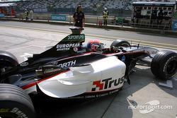 Джастін Вілсон, Minardi Cosworth