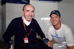 Frank Williams y Ralf Schumacher