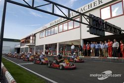 Karting at the Schumacher family track in Kerpen
