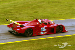 Veteran racer Jim Downing of Atlanta debuted a WR-Mazda Prototype