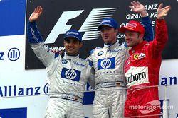 Podium: 1. Ralf Schumacher, 2. Juan Pablo Montoya, 3. Rubens Barrichello