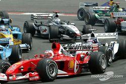 start: Rubens Barrichello ve Juan Pablo Montoya
