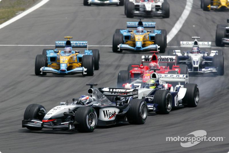 10: Kimi Raikkonen (McLaren) 23 08 12, Europe (Nurburgring) 2003