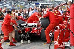 Pitstop de Ferrari