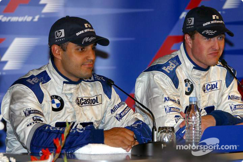 Press conference: race winner Ralf Schumacher and Juan Pablo Montoya