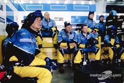 Miembros del equipo Renault F1
