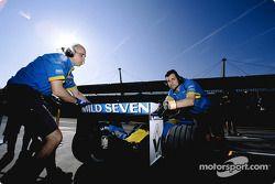 Renault F1 takım elemanları