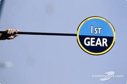 Renault F1 paleta de señalización