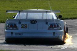 La Mustang n°29 de l'équipe Sky Blue Racing pilotée par Stu Hayner, Woodson Duncan