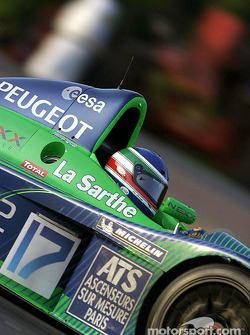 #17 Pescarolo Sport Courage C60-Peugeot: Jean-Christophe Boullion, Franck Lagorce, Stéphane Sarrazin