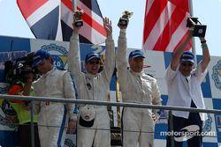 Podio: LMP675 ganadores Jean-Luc Maury-Laribière, Didier André, Christophe Pillon