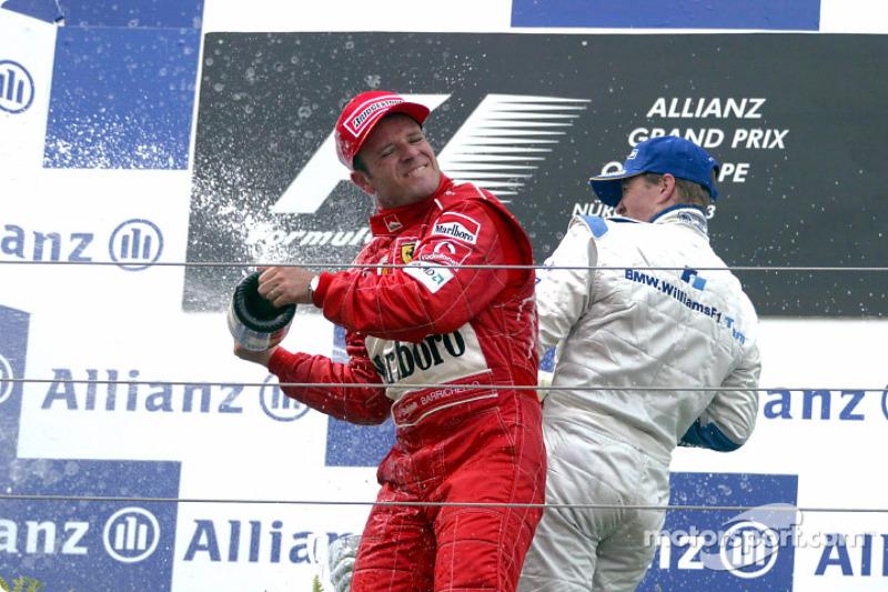 Podyum: Yarış galibi Ralf Schumacher