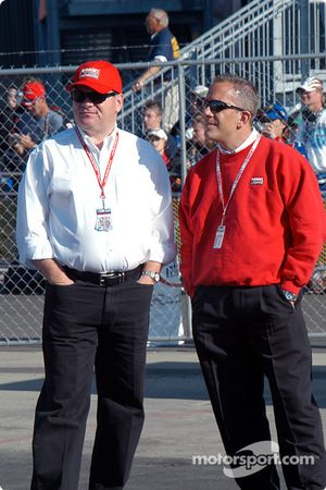 Chip Ganassi and Andy Graves