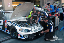 Penske Racing garage area